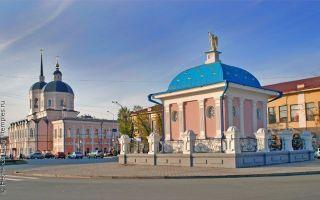 Богоявленский собор (томск), россия, город томск