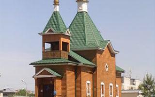 Церковь иконы божией матери боголюбская в пышлицах