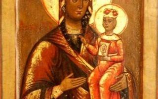 Икона божией матери рудненская