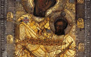 Акафист пресвятой богородице пред иконой «иверская»