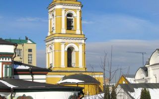 Колокольня с храмом священномученика евгения херсонесского
