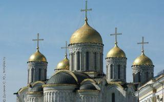 Собор успения пресвятой богородицы (владимир), россия, город владимир