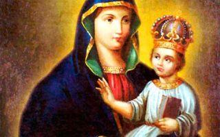 Икона божией матери барская, украина, винницкая область, город бар, барский свято-успенский собор