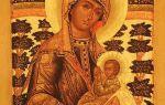 Икона божией матери «млекопитательница», греция, афон, карея, великая карейская келлия, церковь типикарница