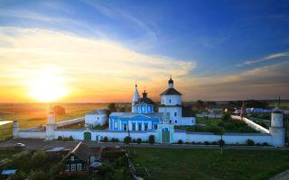 Бобренев монастырь, россия, московская область, коломенский район, село старое бобренево