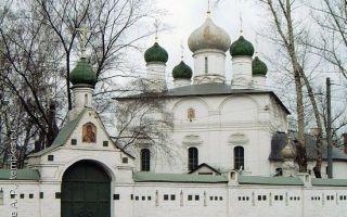 Сретенский монастырь (москва), россия, город москва