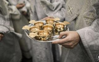 Праздничные посты и крещенский сочельник. богослужение