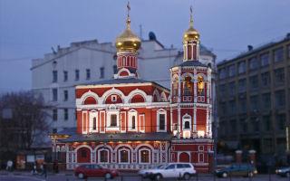 Храм всех святых на кулишках, россия, город москва