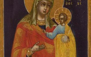 Икона божией матери казанская тобольская