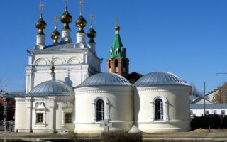 Церковь вознесения господня в муроме, россия, владимирская область, город муром