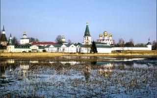Валдайский иверский святоозерский монастырь, россия, новгородская область