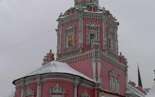 Храм богоявления (бывшего богоявленского монастыря), россия, город москва