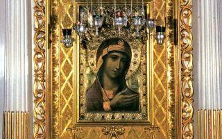Икона божией матери «скоропослушница» невская, россия, город санкт-петербург, александро-невская лавра, свято-троицкий собор