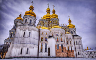 Киево-печерская лавра, украина, город киев
