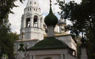 Церковь иоанна богослова (кострома), россия, город кострома