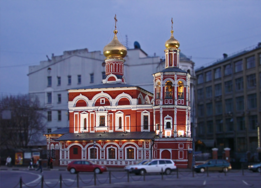 Храм всех святых на кулишках, россия, город москва - Хор Веры